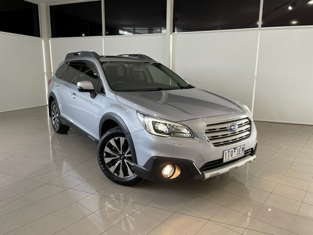 Used Subaru Outback B6A MY15 2.5i CVT AWD Premium Deer Park, 2015 Subaru Outback B6A MY15 2.5i CVT AWD Premium Silver, Chrome 6 Speed Constant Variable Wagon