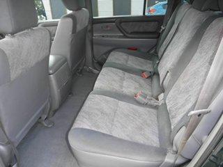 2000 Toyota Landcruiser FZJ105R GXL Green 4 Speed Automatic Wagon