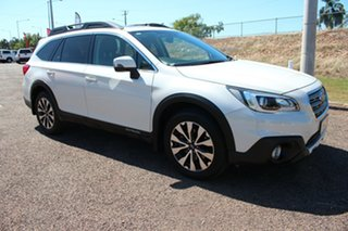 2015 Subaru Outback B6A MY16 2.5i CVT AWD Premium White 6 Speed Continuous Variable Wagon.