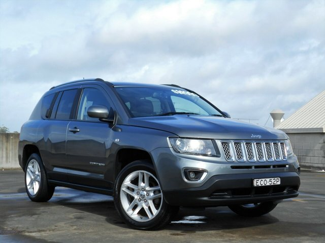 Used Jeep Compass MK MY13 Limited CVT Auto Stick Brookvale, 2013 Jeep Compass MK MY13 Limited CVT Auto Stick Grey 6 Speed Constant Variable Wagon