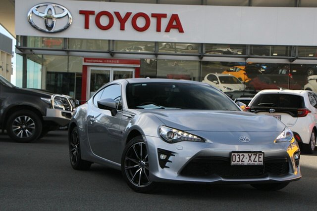 Pre-Owned Toyota 86 ZN6 GTS Upper Mount Gravatt, 2018 Toyota 86 ZN6 GTS Silver 6 Speed Sports Automatic Coupe