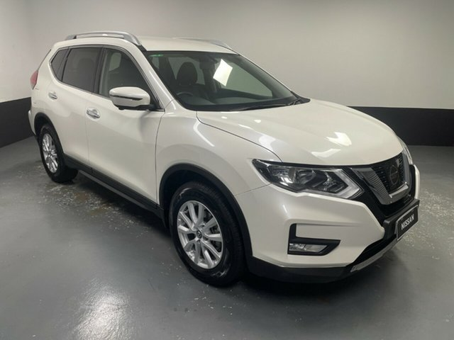 Used Nissan X-Trail T32 Series II ST-L X-tronic 2WD Hamilton, 2018 Nissan X-Trail T32 Series II ST-L X-tronic 2WD White 7 Speed Constant Variable Wagon