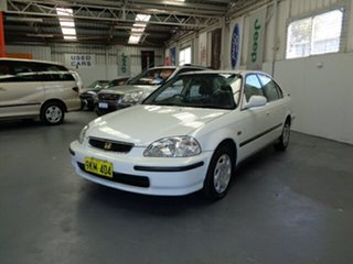 1997 Honda Civic EK GLi White 4 Speed Automatic Sedan.