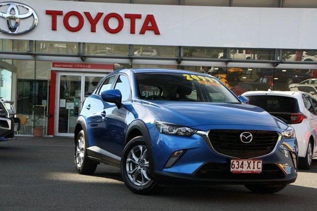 Pre-Owned Mazda CX-3 DK2W7A Maxx SKYACTIV-Drive Upper Mount Gravatt, 2017 Mazda CX-3 DK2W7A Maxx SKYACTIV-Drive Blue 6 Speed Sports Automatic Wagon