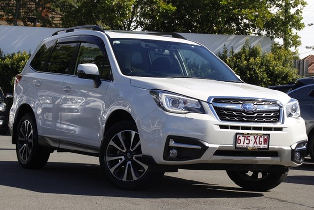 Used Subaru Forester S4 MY17 2.5i-S CVT AWD Mount Gravatt, 2017 Subaru Forester S4 MY17 2.5i-S CVT AWD Crystal White 6 Speed Constant Variable Wagon