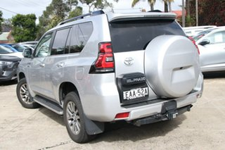 2018 Toyota Landcruiser Prado GDJ150R VX Silver Pearl 6 Speed Automatic Wagon.