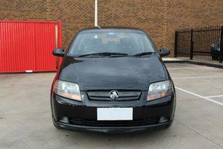 2008 Holden Barina TK MY08 Black 4 Speed Automatic Hatchback.
