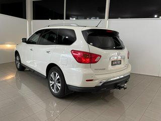 2018 Nissan Pathfinder R52 Series II MY17 ST X-tronic 4WD White 1 Speed Constant Variable Wagon.