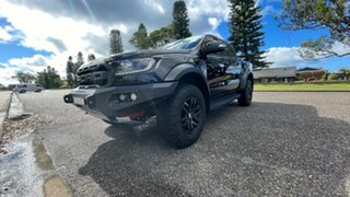 2018 Ford Ranger PX MkIII 2019.00MY Raptor Shadow Black 10 Speed Sports Automatic Utility