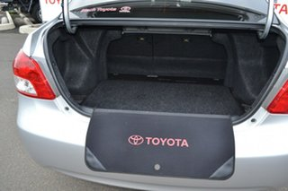 2015 Toyota Yaris NCP93R 10 Upgrade YRS Silver Pearl 4 Speed Automatic Sedan
