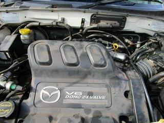 2001 Mazda Tribute White 4 Speed Automatic Wagon