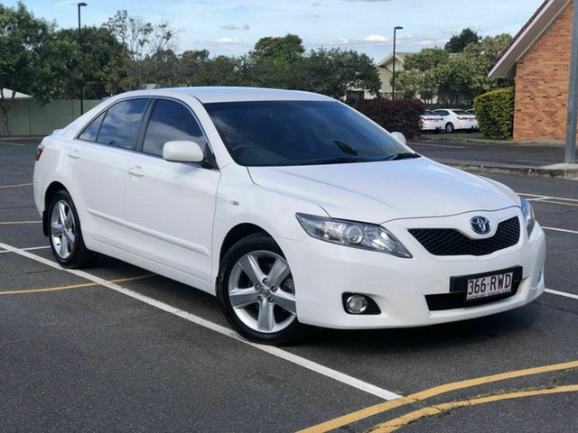 Used Toyota Camry ACV40R Touring Chermside, 2011 Toyota Camry ACV40R Touring White 5 Speed Automatic Sedan