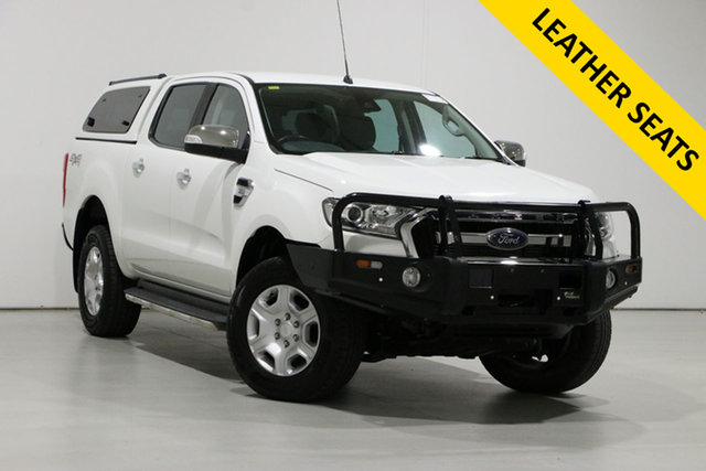 Used Ford Ranger PX MkII MY17 XLT 3.2 (4x4) Bentley, 2016 Ford Ranger PX MkII MY17 XLT 3.2 (4x4) White 6 Speed Automatic Double Cab Pick Up