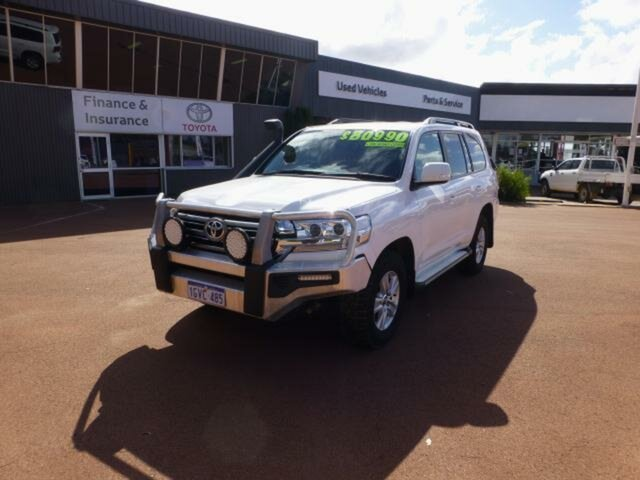 Pre-Owned Toyota Landcruiser VDJ200R MY16 GXL (4x4) Esperance, 2017 Toyota Landcruiser VDJ200R MY16 GXL (4x4) Glacier White 6 Speed Automatic Wagon