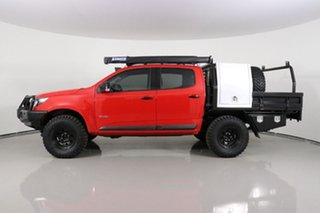 2017 Holden Colorado RG MY17 Z71 (4x4) Red 6 Speed Automatic Crew Cab Pickup