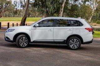 2019 Mitsubishi Outlander ZL MY19 ES 5 Seat (2WD) White 5 Speed Manual Wagon.
