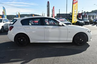 2019 BMW 1 Series F20 LCI-2 118i Steptronic M Sport White 8 Speed Sports Automatic Hatchback.