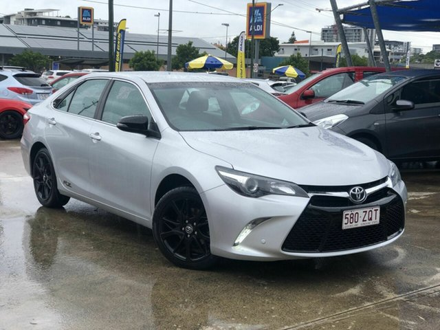 Used Toyota Camry ASV50R RZ Chermside, 2016 Toyota Camry ASV50R RZ Silver 6 Speed Sports Automatic Sedan