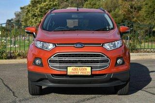 2015 Ford Ecosport BK Trend Orange 5 Speed Manual Wagon.