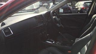 2013 Mazda 6 GJ1021 Atenza SKYACTIV-Drive Red/Black 6 Speed Sports Automatic Sedan