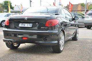2005 Peugeot 206 CC Black 5 Speed Manual Cabriolet