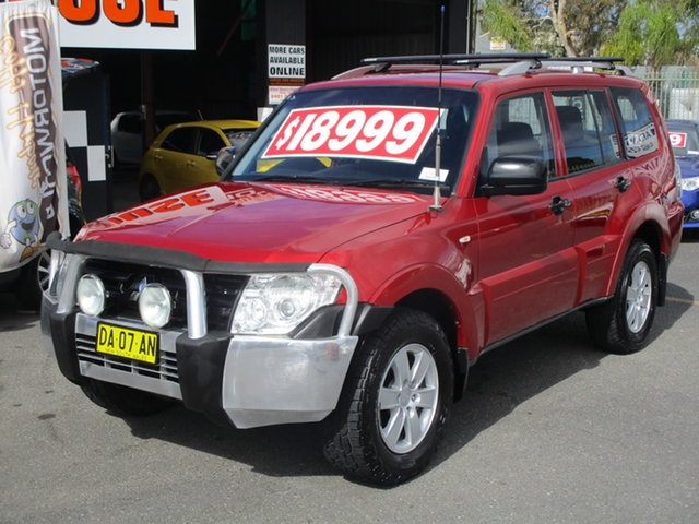 Used Mitsubishi Pajero NS GLX LWB (4x4) Coffs Harbour, 2007 Mitsubishi Pajero NS GLX LWB (4x4) Burgundy 5 Speed Auto Sports Mode Wagon