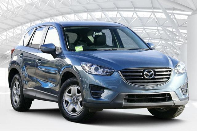 Used Mazda CX-5 KE1032 Maxx SKYACTIV-Drive AWD Moorebank, 2016 Mazda CX-5 KE1032 Maxx SKYACTIV-Drive AWD Blue Reflex 6 Speed Sports Automatic Wagon