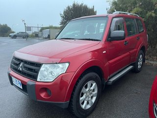 2009 Mitsubishi Pajero NT MY09 GLX Burgundy 5 Speed Sports Automatic Wagon