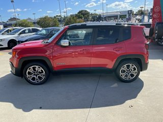 2015 Jeep Renegade BU MY16 Limited DDCT Red 6 Speed Sports Automatic Dual Clutch Hatchback