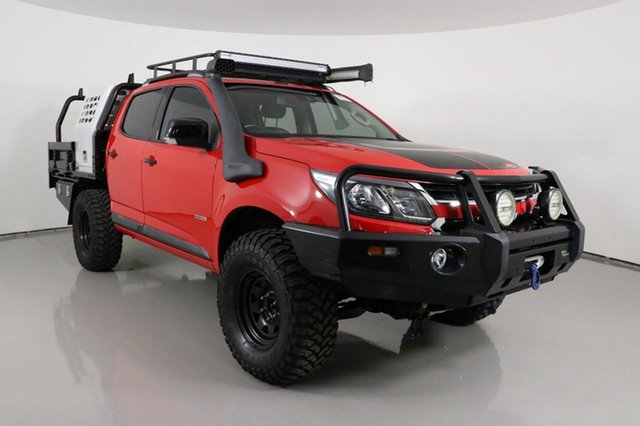 Used Holden Colorado RG MY17 Z71 (4x4) Bentley, 2017 Holden Colorado RG MY17 Z71 (4x4) Red 6 Speed Automatic Crew Cab Pickup