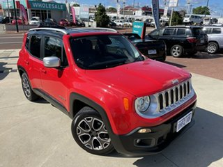 2015 Jeep Renegade BU MY16 Limited DDCT Red 6 Speed Sports Automatic Dual Clutch Hatchback.