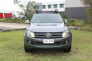 2012 Volkswagen Amarok 2H MY12.5 TDI400 4Mot Highline Grey 6 Speed Manual Utility.