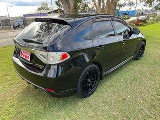2007 Subaru Impreza G3 MY08 RX AWD Black 5 Speed Manual Hatchback