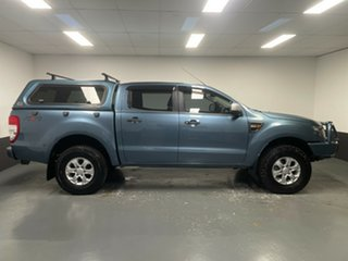 2014 Ford Ranger PX XLS Double Cab Blue 6 Speed Sports Automatic Utility