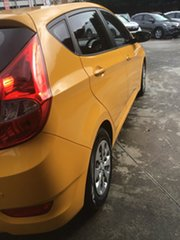 2016 Hyundai Accent RB4 MY16 Active Yellow 6 Speed Constant Variable Hatchback