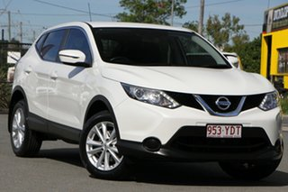 2016 Nissan Qashqai J11 ST Ivory Pearl 1 Speed Constant Variable Wagon.