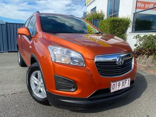 2016 Holden Trax TJ MY16 LS Orange Rock 6 Speed Automatic Wagon.