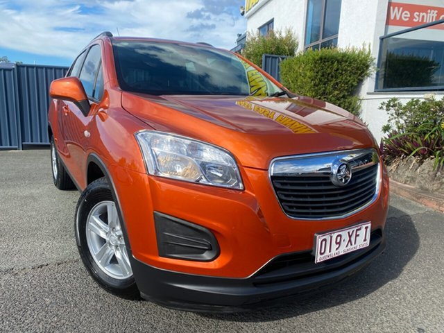 Used Holden Trax TJ MY16 LS Slacks Creek, 2016 Holden Trax TJ MY16 LS Orange Rock 6 Speed Automatic Wagon