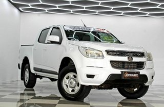 2015 Holden Colorado RG MY16 LS (4x2) White 6 Speed Automatic Crew Cab Pickup.