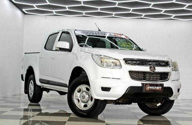 Used Holden Colorado RG MY16 LS (4x2) Burleigh Heads, 2015 Holden Colorado RG MY16 LS (4x2) White 6 Speed Automatic Crew Cab Pickup