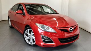 2010 Mazda 6 GH1051 MY09 Luxury Sports Red 5 Speed Sports Automatic Hatchback.