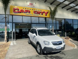2010 Holden Captiva CG MY10 5 (4x4) White 5 Speed Automatic Wagon.