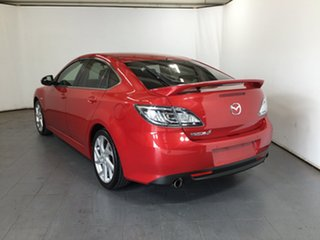 2010 Mazda 6 GH1051 MY09 Luxury Sports Red 5 Speed Sports Automatic Hatchback