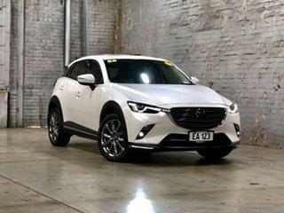 2018 Mazda CX-3 DK2W7A Akari SKYACTIV-Drive FWD LE White 6 Speed Sports Automatic Wagon.