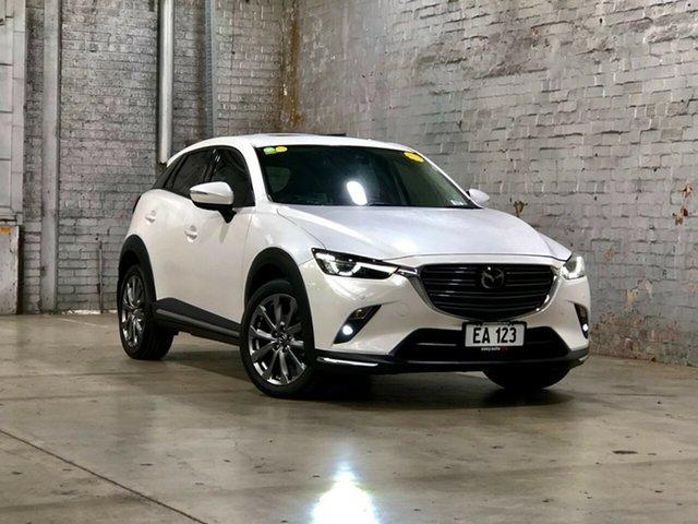 Used Mazda CX-3 DK2W7A Akari SKYACTIV-Drive FWD LE Mile End South, 2018 Mazda CX-3 DK2W7A Akari SKYACTIV-Drive FWD LE White 6 Speed Sports Automatic Wagon