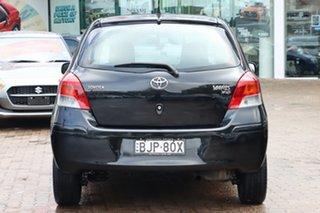 2009 Toyota Yaris NCP91R 08 Upgrade YRS Black 5 Speed Manual Hatchback