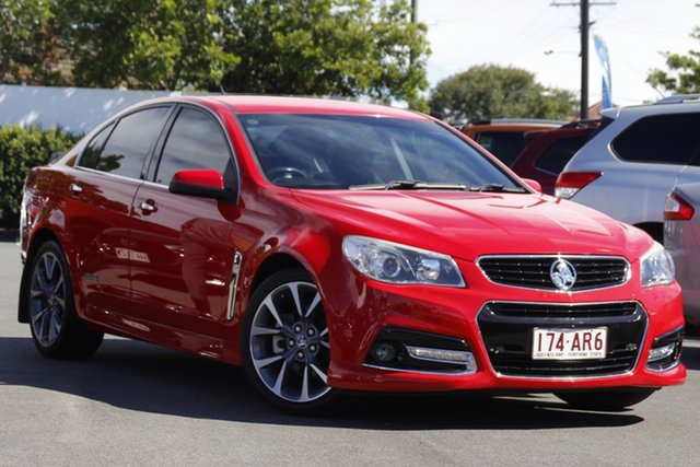Used Holden Commodore VF MY14 SS Mount Gravatt, 2014 Holden Commodore VF MY14 SS Red 6 Speed Manual Sedan
