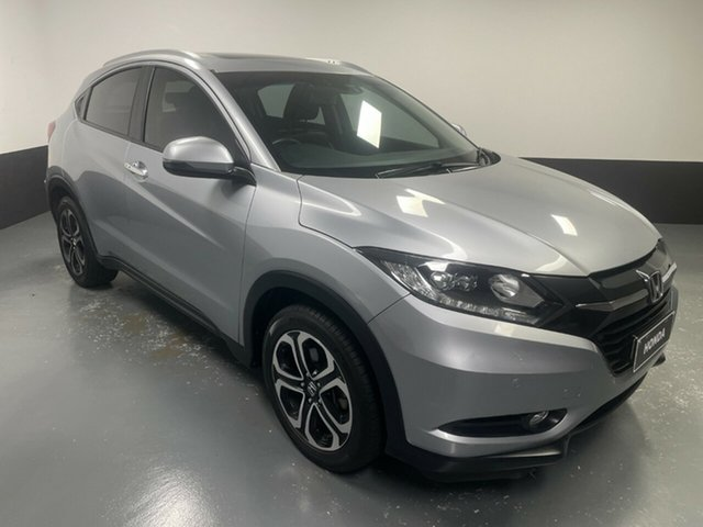 Used Honda HR-V MY16 VTi-L Cardiff, 2016 Honda HR-V MY16 VTi-L Silver 1 Speed Constant Variable Hatchback