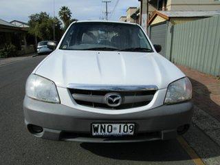 2001 Mazda Tribute White 4 Speed Automatic Wagon.
