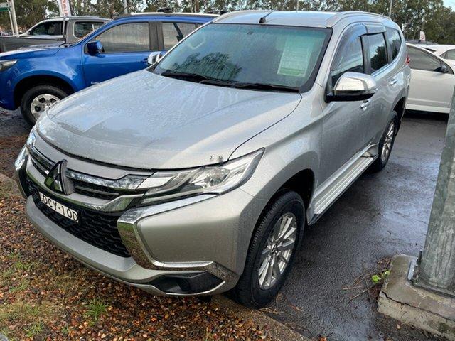 Used Mitsubishi Pajero Sport QE MY18 GLX Maitland, 2018 Mitsubishi Pajero Sport QE MY18 GLX Silver 8 Speed Sports Automatic Wagon